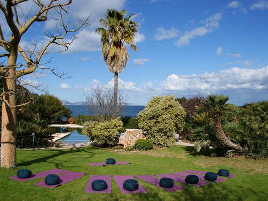 Finca Ses Figueres Garten