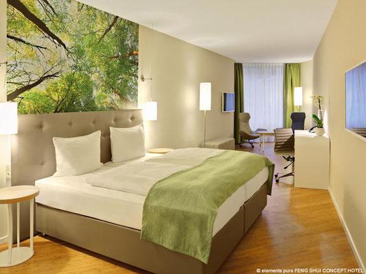 Feng Shui Concept Hotel Bremen:  Zimmerbeispiel