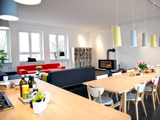 Seminarhaus Sampurna: Essensbereich