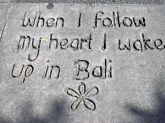 Seminar auf Bali