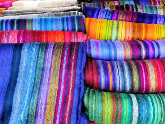 Ecuador: Markt in Otavalo