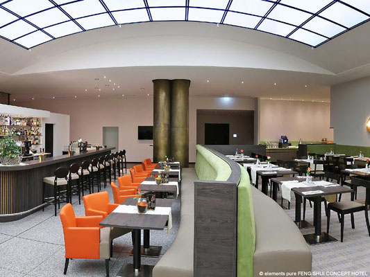 Feng Shui Concept Hotel Bremen: Restaurant