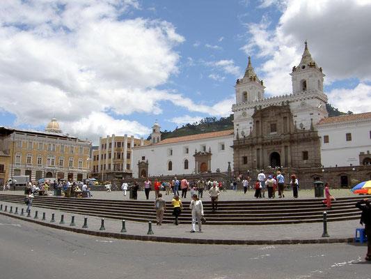 Ecuador: Basilika in Quite
