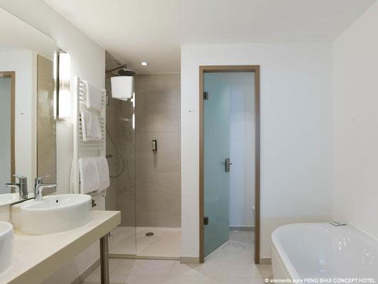 Feng Shui Concept Hotel Bremen: Beispiel Bad deluxe