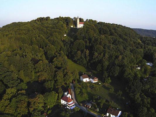 Luftbild Kloster St. Josef