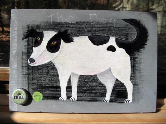 Ball King | 10 x 12 on plywood