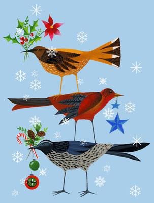 Christmas Stack / cover art / Client: Bas Bleu