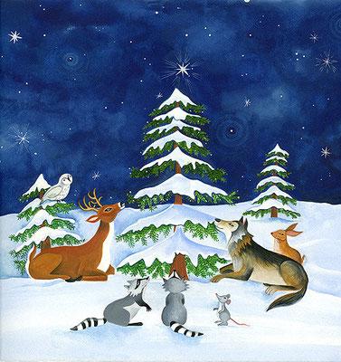 O Christmas Tree / book illustration / Client: Augsburg Press
