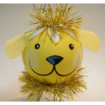 Yellow Lab ornament
