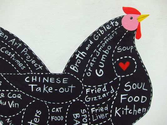 Chicken Parts illustrated | detail
