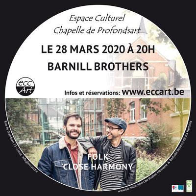 2020 Barnill Brothers à la chapelle de Profondsart
