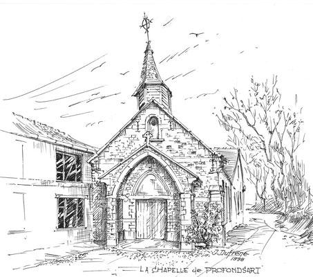 Jean Dufrêne - 1998 -  chapelle de Profondsart