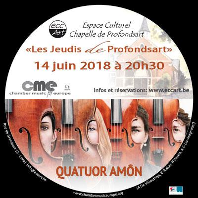2018 Quatuor Amôn