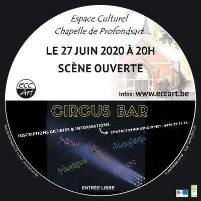 2020 Circus-Bar #4 à la chapelle de Profondsart