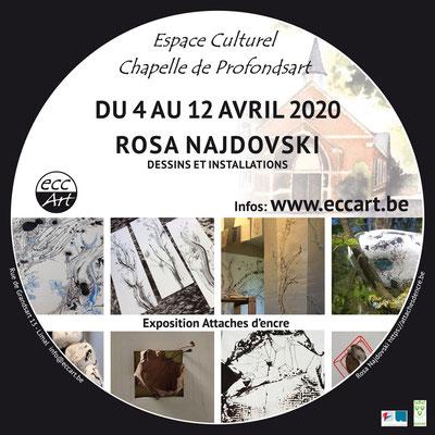 2020 Rosa Najdovski à la chapelle de Profondsart