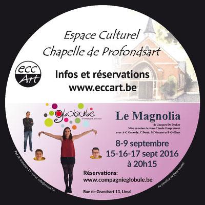 2016 Théâtre Le magnolia (Compagnie Globule)