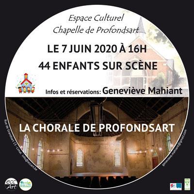 2020 Chorale de Profondsart à la chapelle de Profondsart