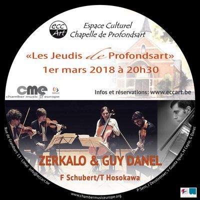 2018 le Quatuor Zerkalo et Guy Danel