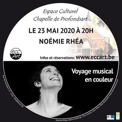 2020 Noémie Rhéa à la chapelle de Profondsart