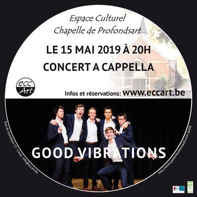 Good Vibrations à la chapelle de Profondsart. 2019