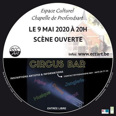 2020 Circus-Bar #3 à la chapelle de Profondsart