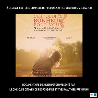 2018  Ciné-Club Citoyen de Profondsart