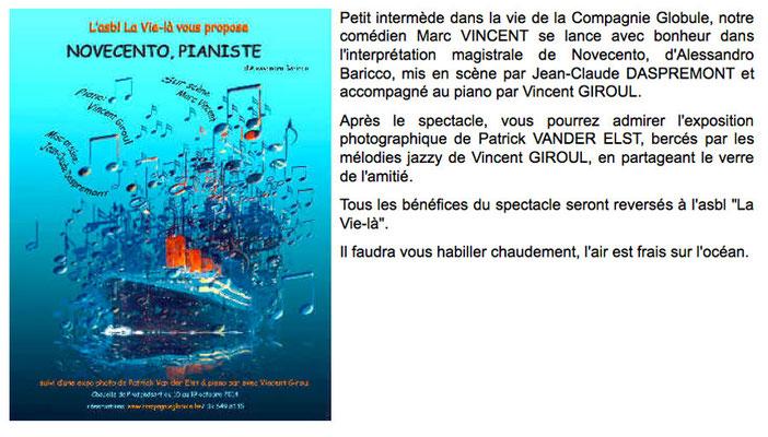 2014 Théâtre Novecento  (Compagnie Globule)