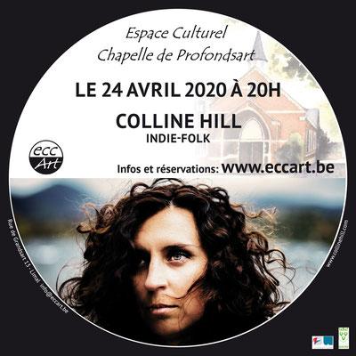 2020 Colline Hill à la chapelle de Profondsart