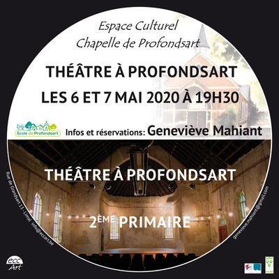 2020 Théâtre des enfants à la chapelle de Profondsart