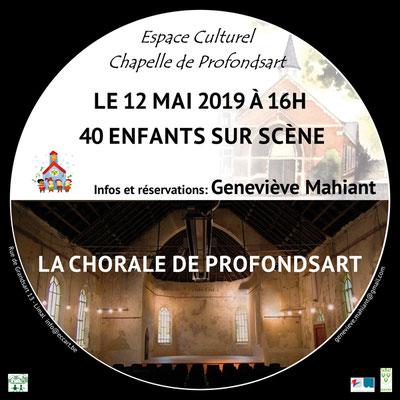 Chorale à la chapelle de Profondsart. 2019