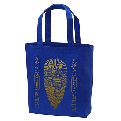 pharaoh Tote Bag royal blue