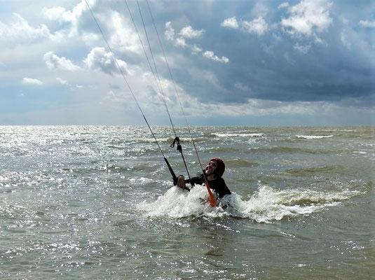 Kitekurse für Fortgeschrittene an der Nordsee