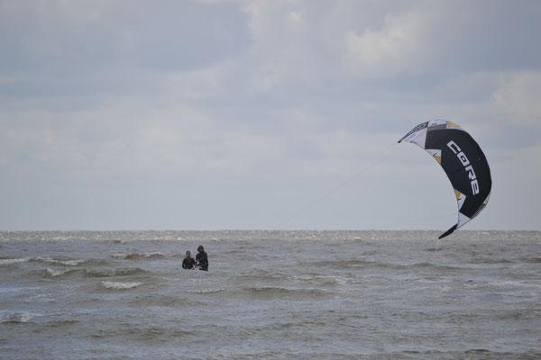 Egal, wie der Wind steht - Ideales Kiten in St. Peter Ording