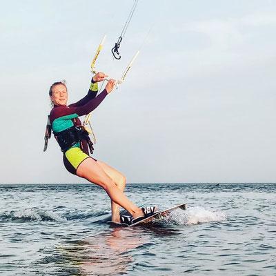 Professionelles Coaching für erfahrene Kitesurfer in St. Peter Ording