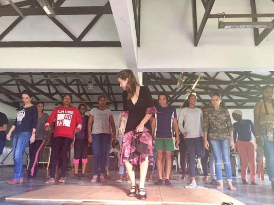 initiation et démonstration à Cilaos