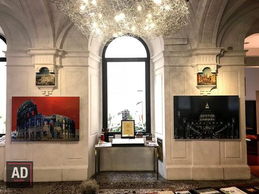 Hotel Art , Via Margutta 56, Roma - Roma Caput Mundi, mostra fotografica di Graziano Villa