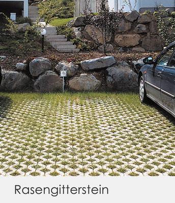 Unser ÖKO-Pflaster und die RASENGITTERSTEINE tragen zur ökologischen Flächenbefestigung bei.