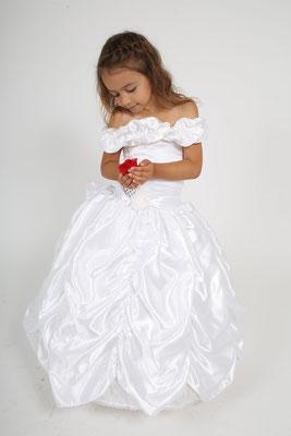 Robe de cérémonie pour enfant Blanche
