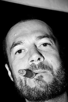 Fotografie - Portrait mit Zigarre