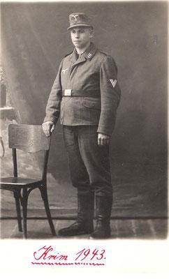 Karl Schneider, Krim 1943