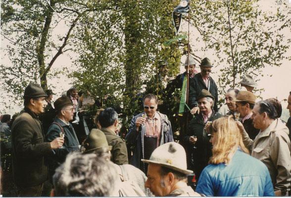 Einweihung Brücke April 1981