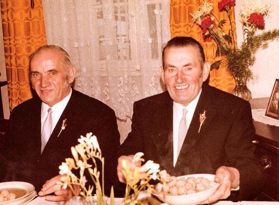 Karl Kästel und Bruder Josef Kästel