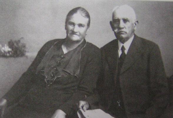 Franz Kästel, gen. Eck-Franz und Ehefrau Maria, geb. Nett