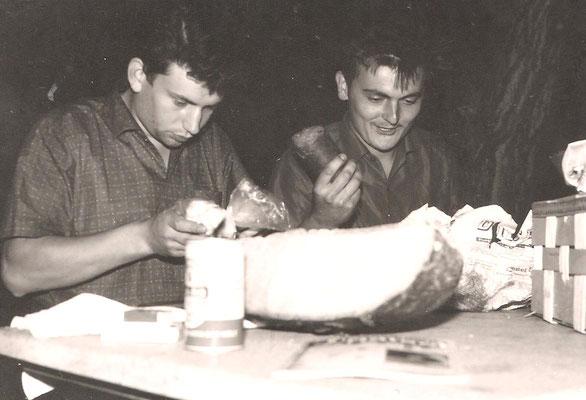 Eugen Schneider und Hermann Lohaas