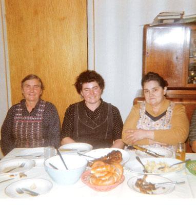 Katharina, Frieda und Maria Kästel