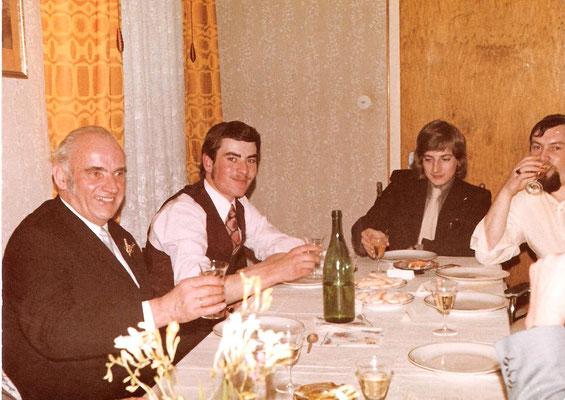 Karl Kästel, Franz Kästel, Kurt Kästel und Eugen Schneider