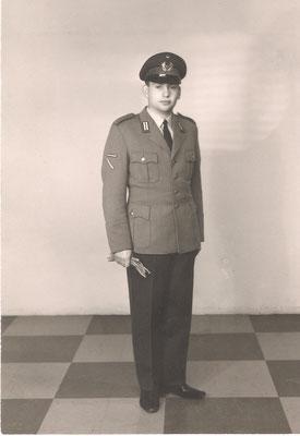 Eugen Schneider bei der Bundeswehr