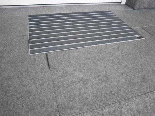 Fußroste Bodengleich