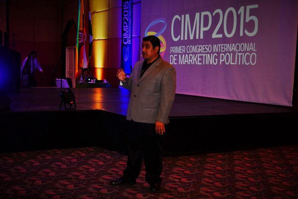 Ronald Anton en su conferencia en el CIMP 2015 Girardot Colombia.