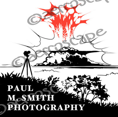 logotype for the nature photographer Paul M. Smith